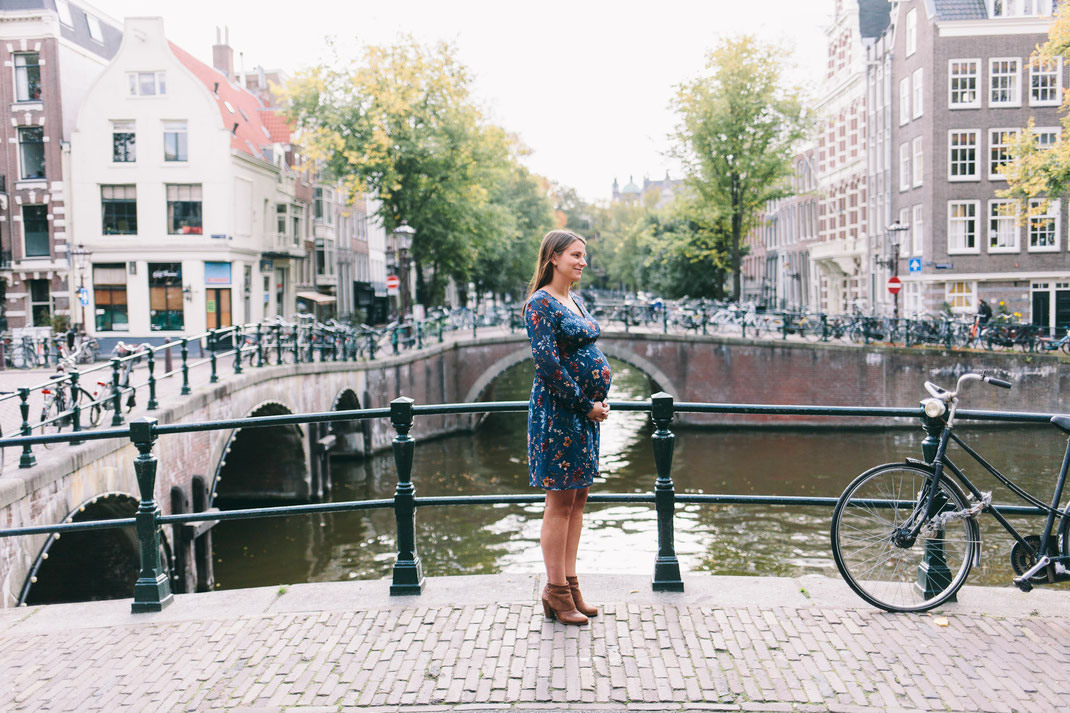 Pregnancy shoot Amsterdam
