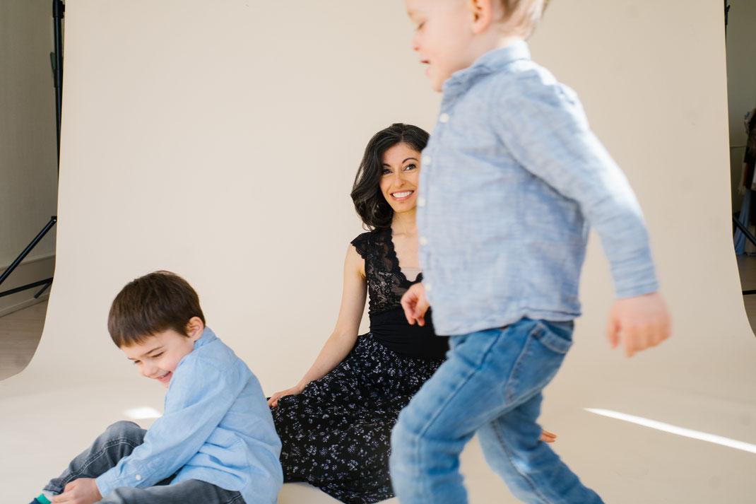 studio shoot family den Haag