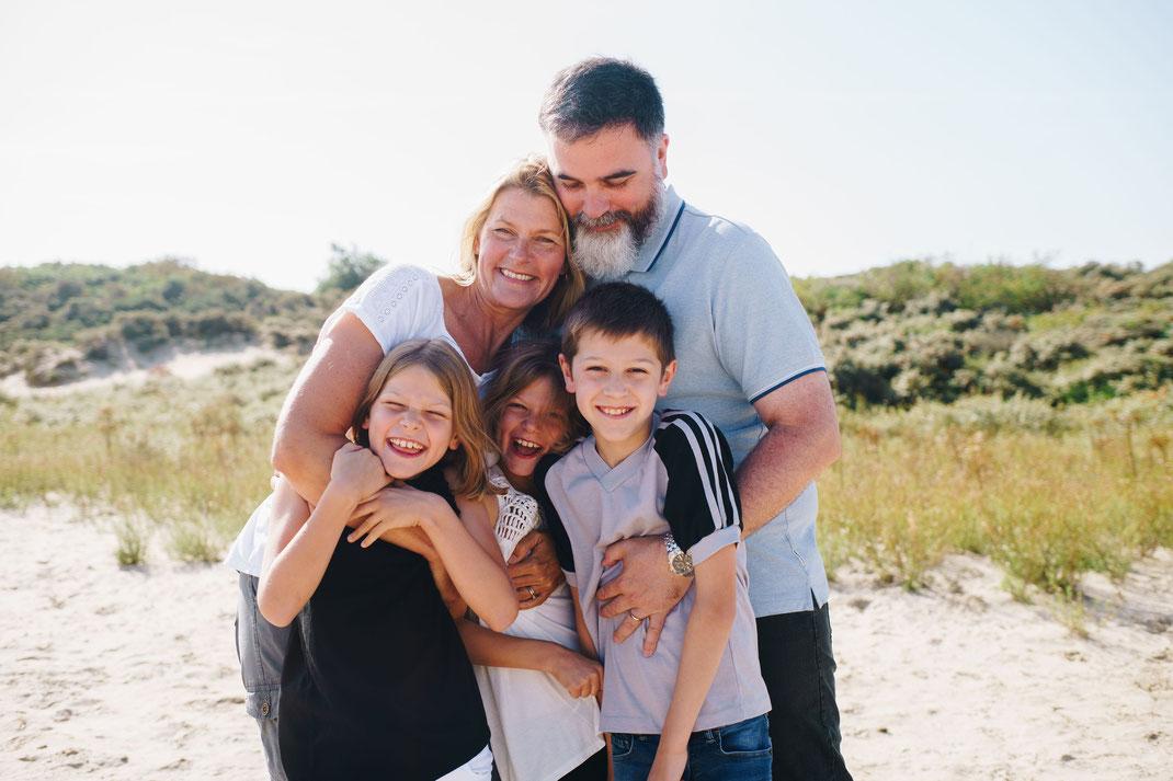 family photoshoot Noordwijk