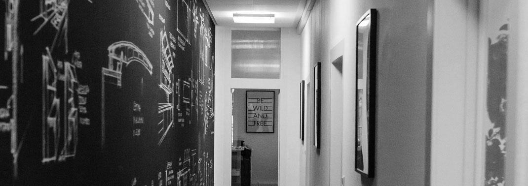 Büro, Immobilien, Flur, Bilder