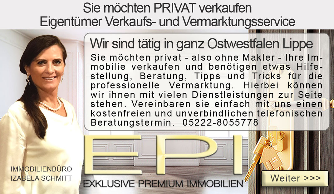 IMMOBILIE WOHNUNG HAUS PRIVAT VERKAUFEN OSTWESTFALEN LIPPE OWL BIELEFELD OHNE MAKLER OHNE MAKLERPROVISION PROVISIONSFREIER PRIVATER IMMOBILIENVERKAUF