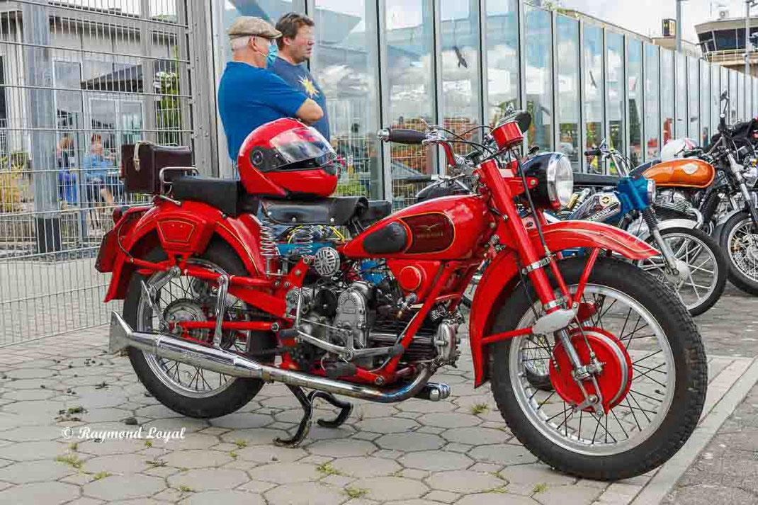 vintage moto guzzi airone sport