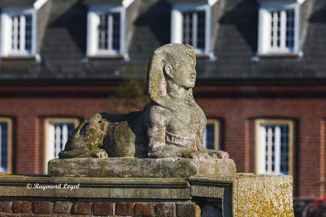 nordkirchen palace sphinx