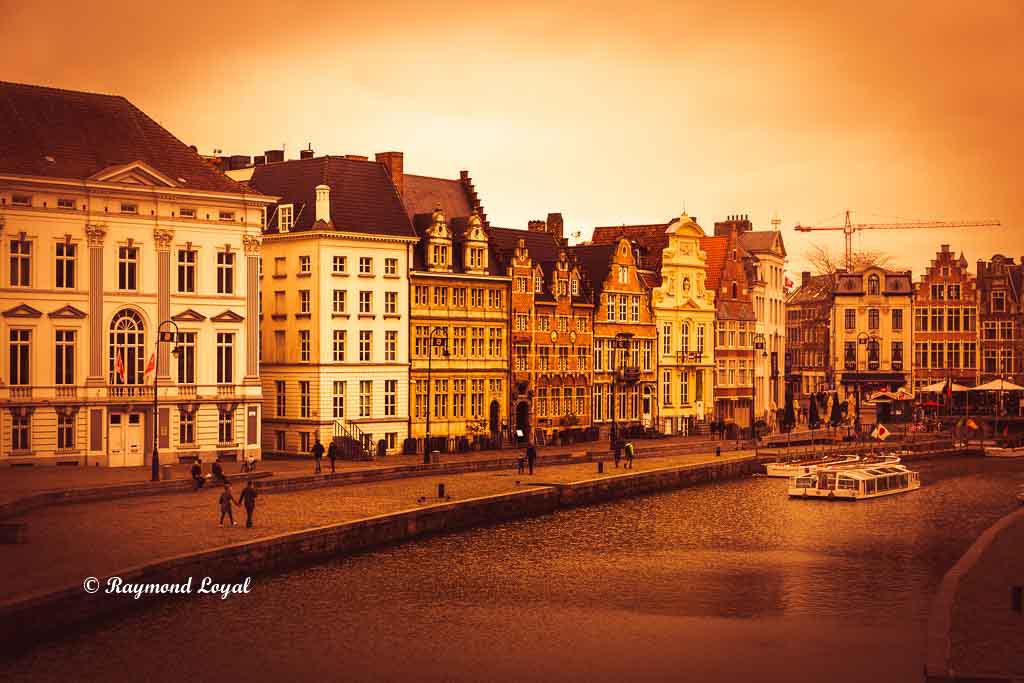Korenlei Gent Belgium