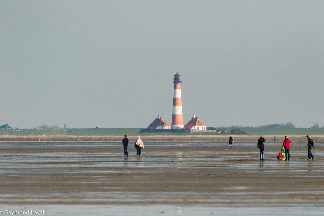 Leuchtturm Westerhever Sand