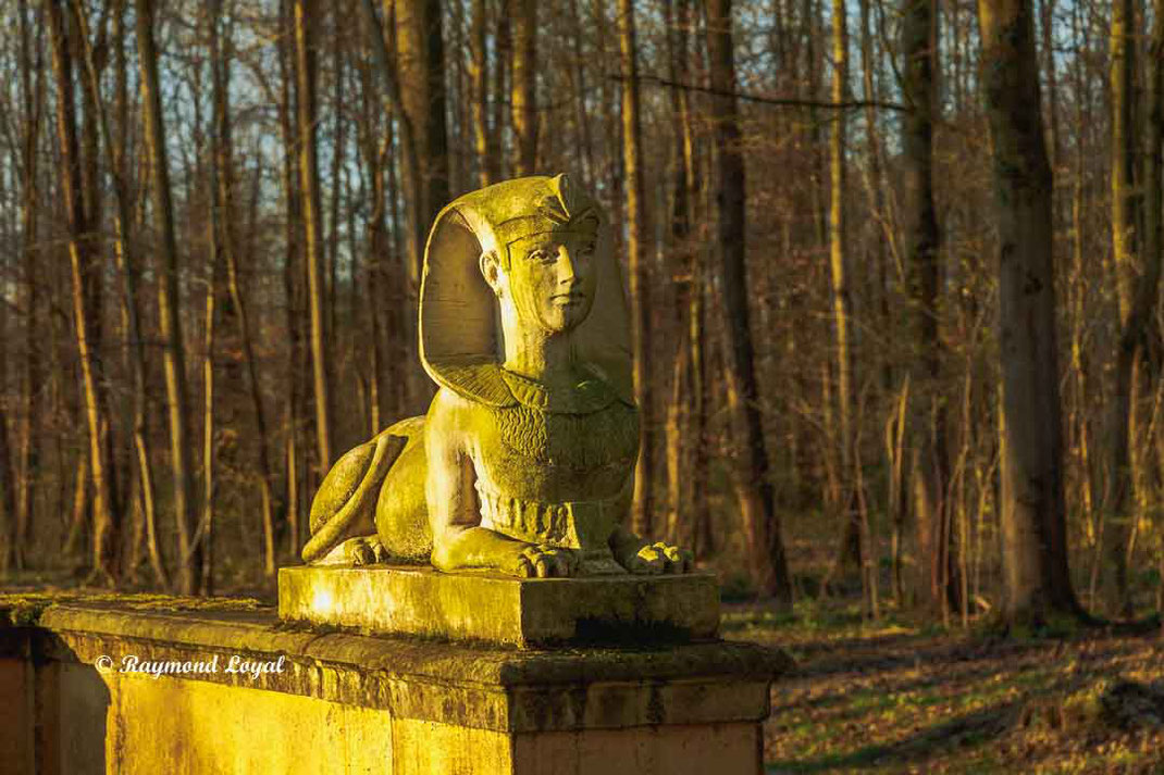 nordkirchen palace sphinx sculpture