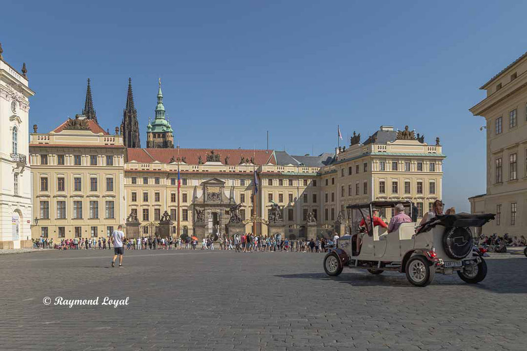 prague castle hradcany square