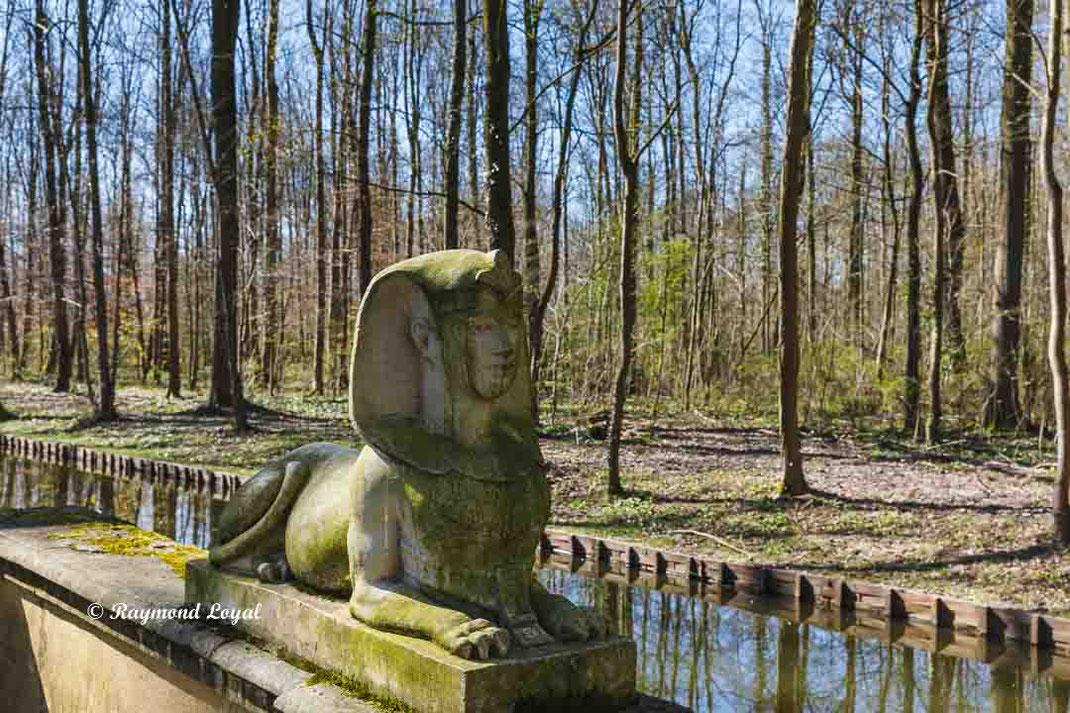 nordkirchen palace sphinx sculpture