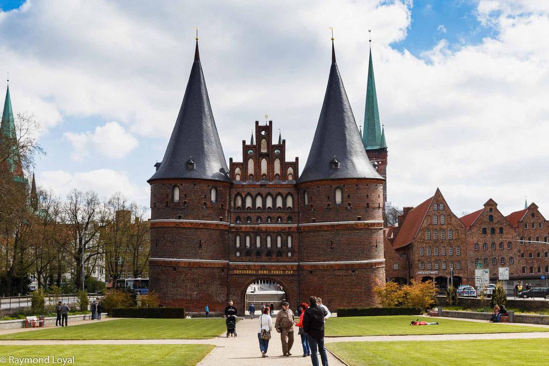 Lübeck holstentor foto