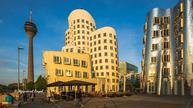 gehry buildings duesseldorf media harbour