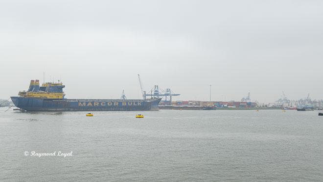 rotterdam seehafen waalhaven bulk carrier