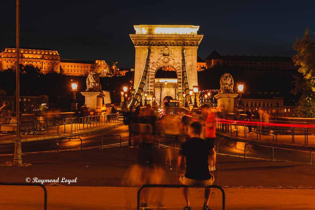 Budapest Chain Bridge foto