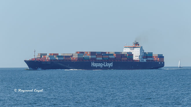 Seeschiff Containerschiff Nordsee