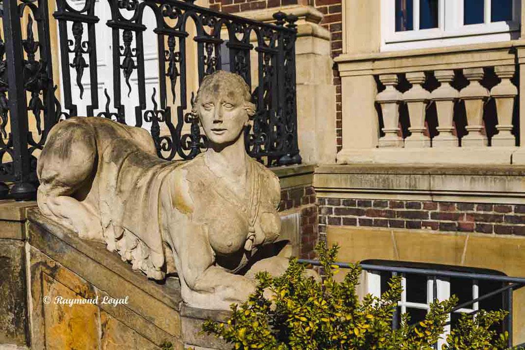 nordkirchen palace shpinx