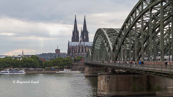 river rhine at cologne