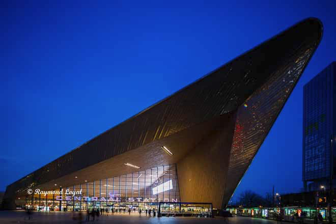 Rotterdam Hauptbahnhof architektur fotos architekturfotografie