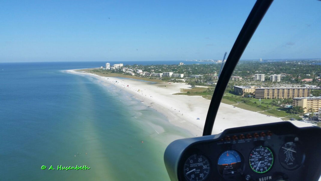 Siesta Beach No. 1  Beach in the USA - Tripadvisor - Florida Suncoast Helicopters