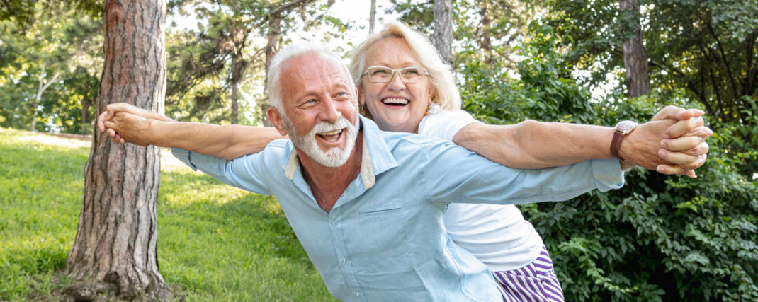 Lebensfreude, Beweglichkeit und Unabhängigkeit im Alter