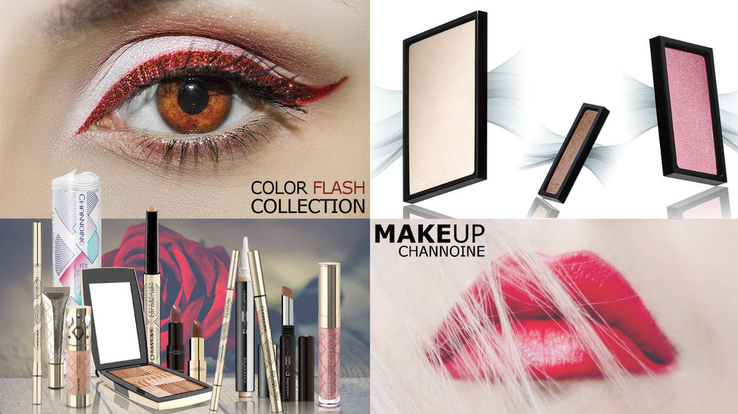 Channoine Make-Up mit der Color Flash Collection, passend zu jedem Anlass und Outfit