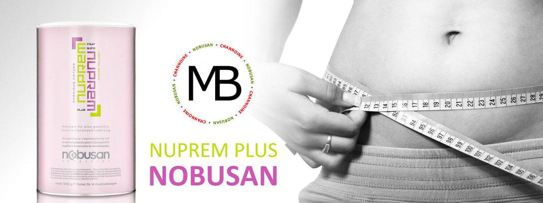 NOBUSAN - Nuprem Plus, die Mahlzeit zur Unterstützung Ihrer gewichtskontrollierenden Ernährung