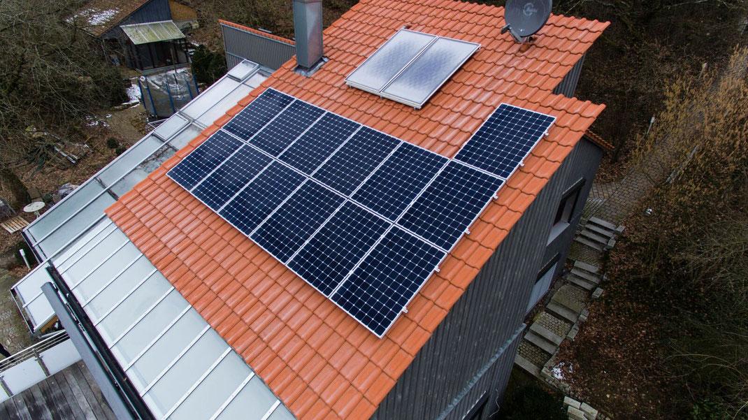 Solaranalagen auch in Lauf Pegnitz