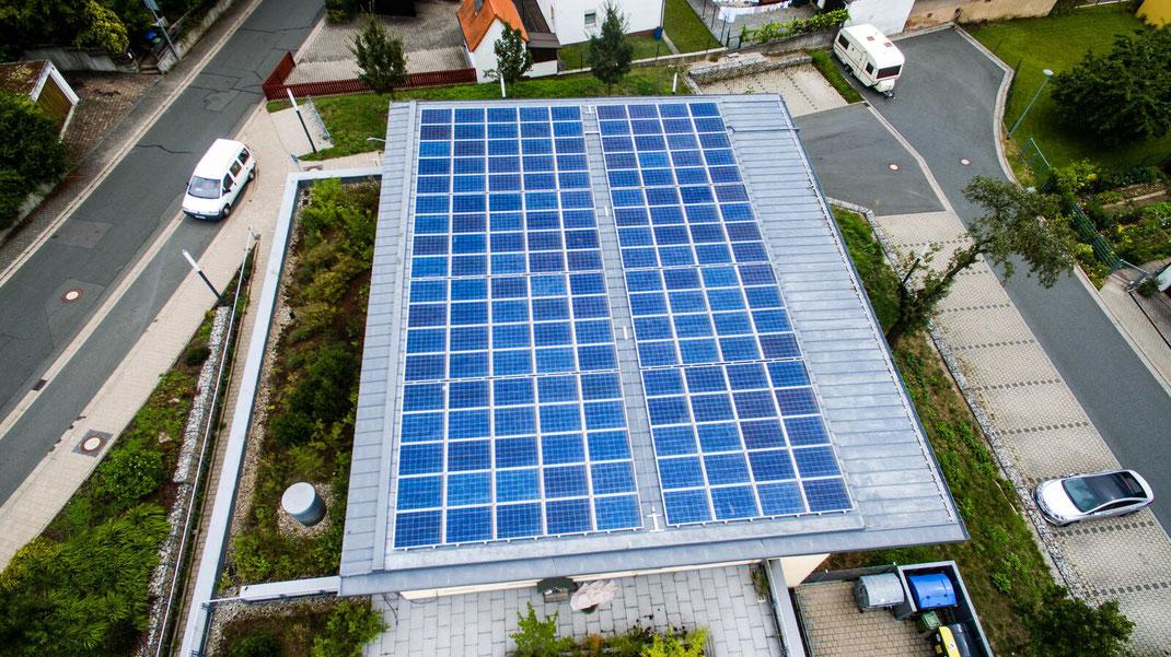 Solar Volleinspeisung mit  Rendite
