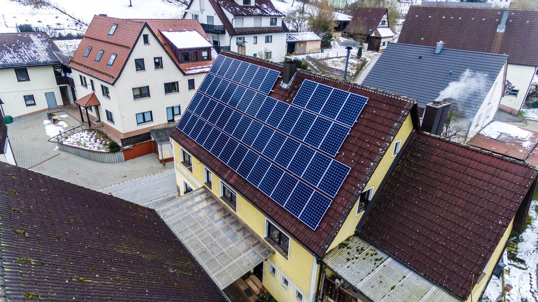 Solaranlage auch in Herzogenaurach