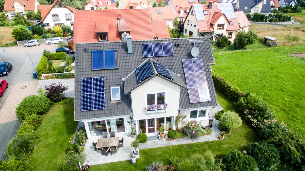 Photovoltaik PV Solar im Raum Erlangen
