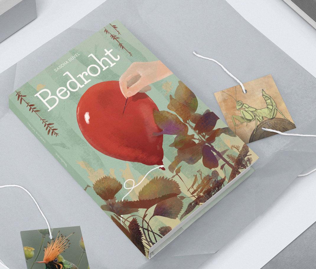 "Sascha Düvel ""Bedroht"" Editorial Buchprojekt"