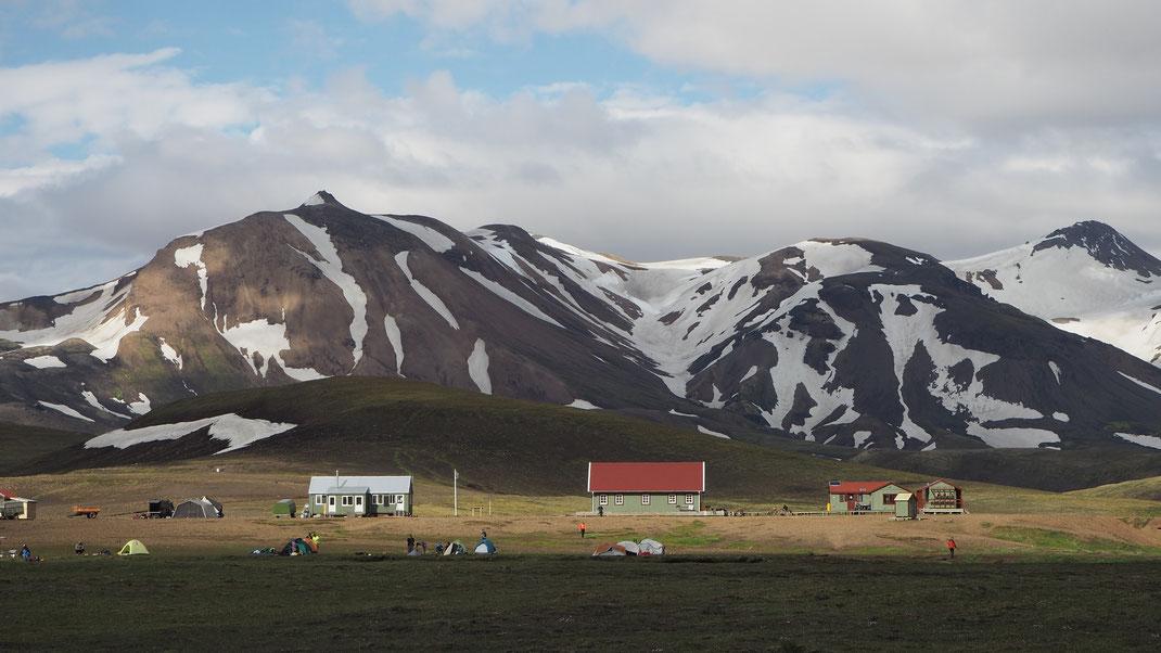 Alftavatn campground