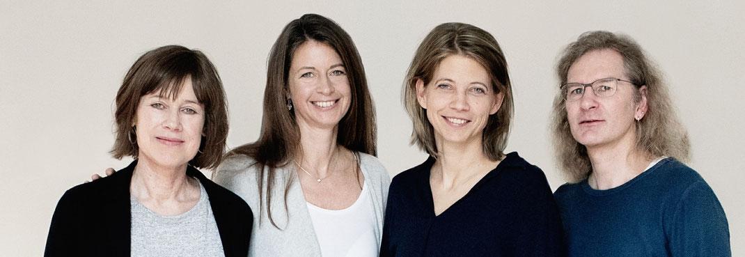 Achtsamkeit@Unternehmen Katharina Schacht, Sabine Bergmann, Dr. Armin Aulinger und Britta Ibbeken