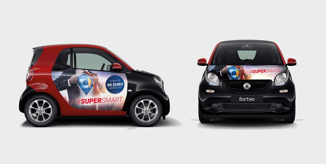 Smart, Autofolierung, Konzept