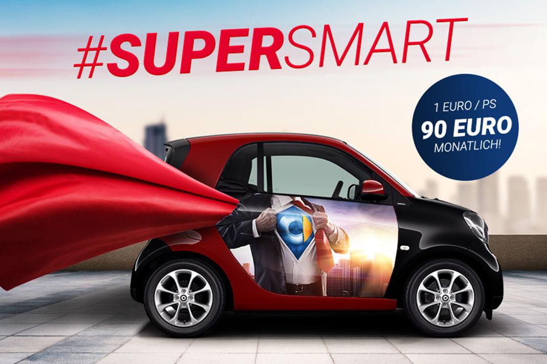 Supersmart, Keyvisual, Crossmedia