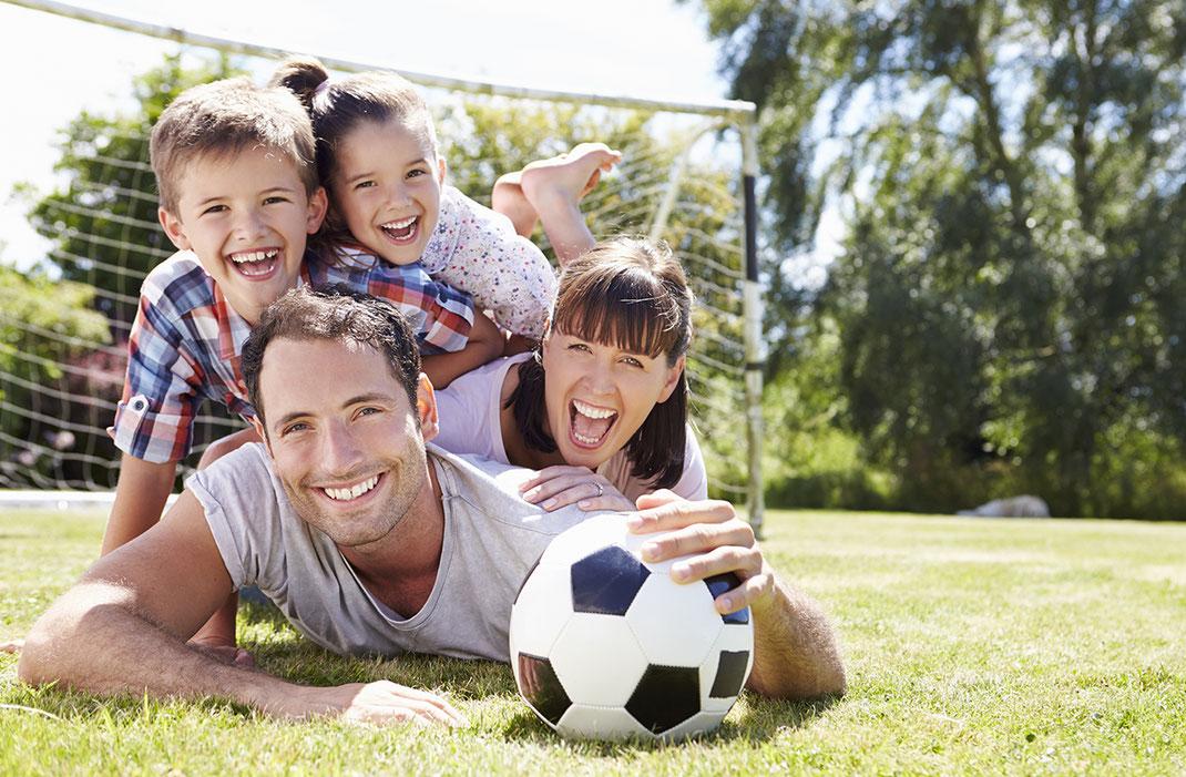 Fussball, Familie, Image