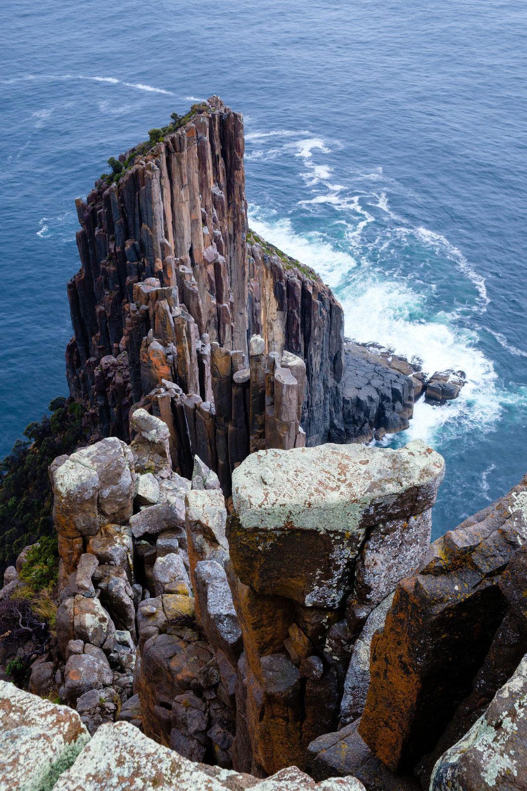 Tasmanien Cape Raoul Meer Felsen Steilküste Tasmania