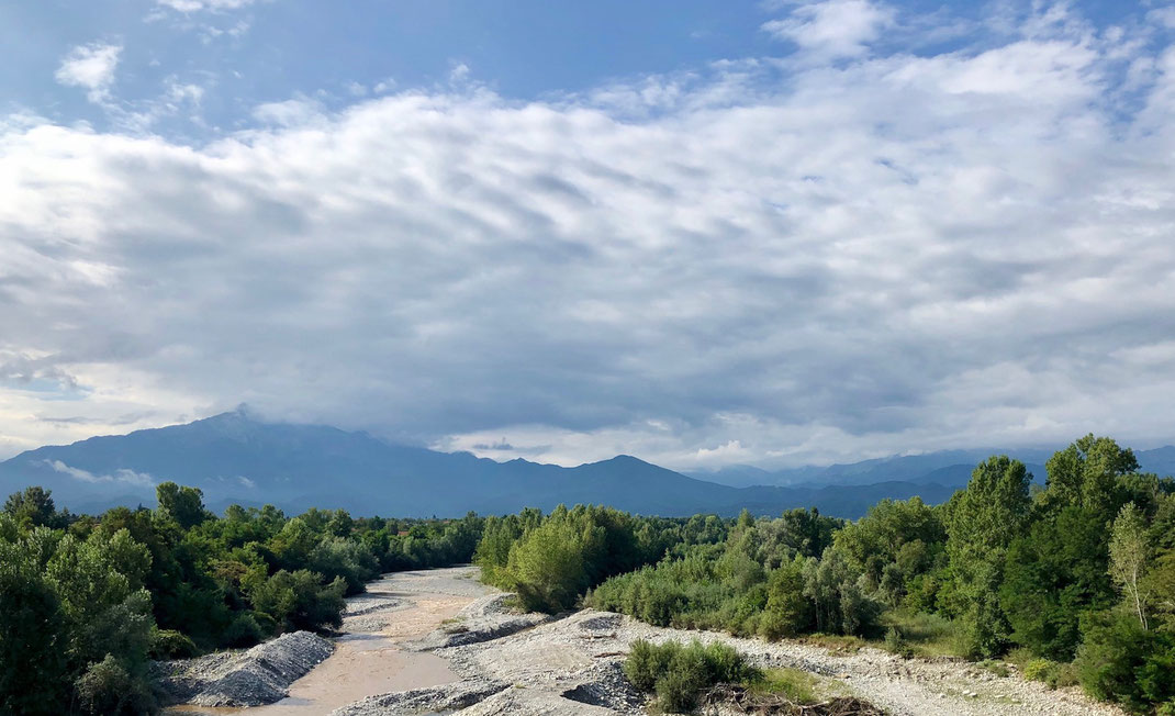 Berghuhn, Alta Via, Italien, Radreise, Bikepacking Alta Via