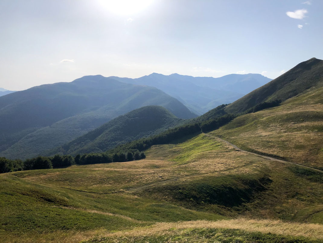 Berghuhn, Italien, Ligurien, Radreise, Bikepacking, Radtour, Apennin