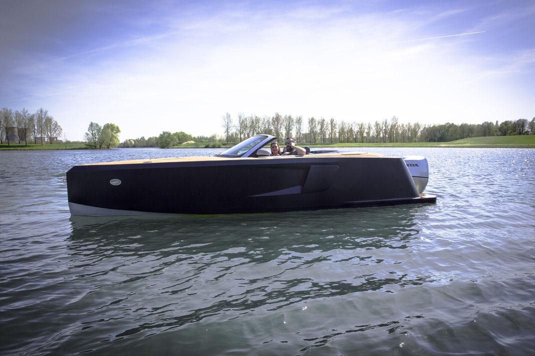 Met veel genoegen en trots hebben wij de technische afbouw gerealiseerd van het AUtoboot Audi A4 Cabrio project