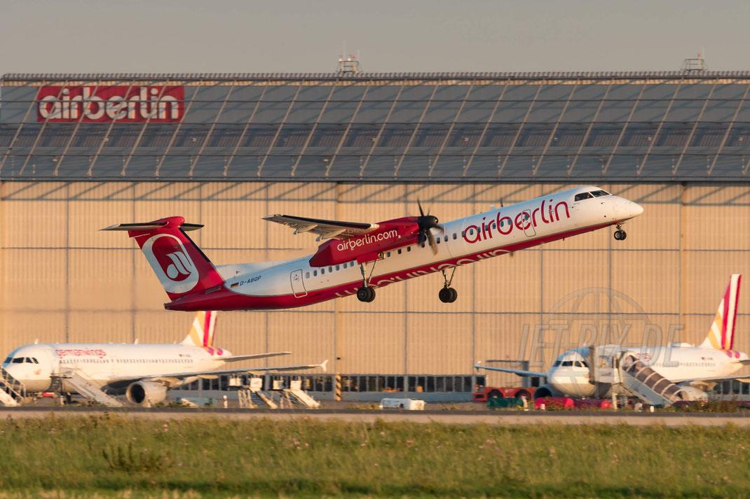 D-ABQP Air Berlin De Havilland Canada DHC-8-402Q Dash 8 2017 10 14 EDDF Düsseldorf