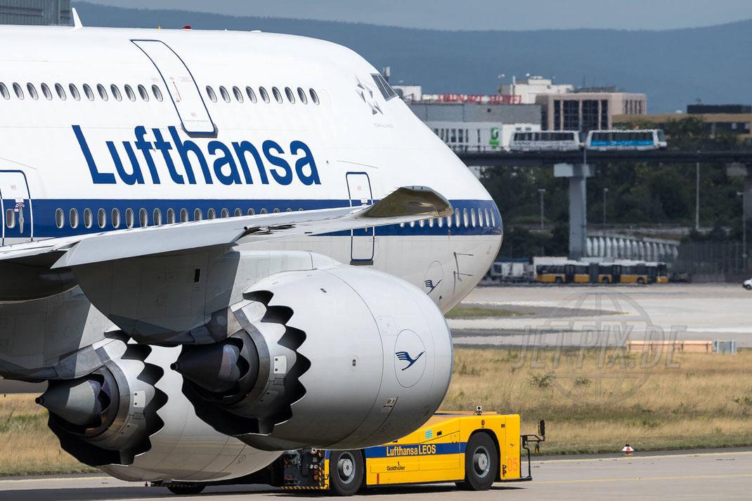 "D-ABYT Lufthansa Boeing 747-830 ""Retro"" 2017 07 29 EDDF Frankfurt"