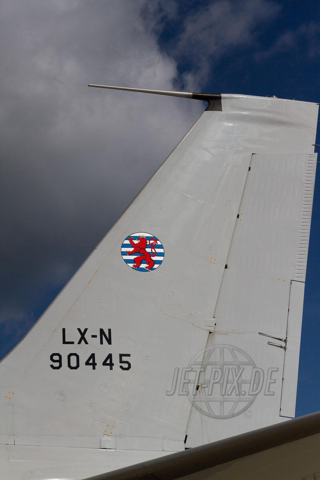LX-N 90445 Heck 30 YEARS AWACS 2012.06.17 ETNG/GKE Geilenkirchen