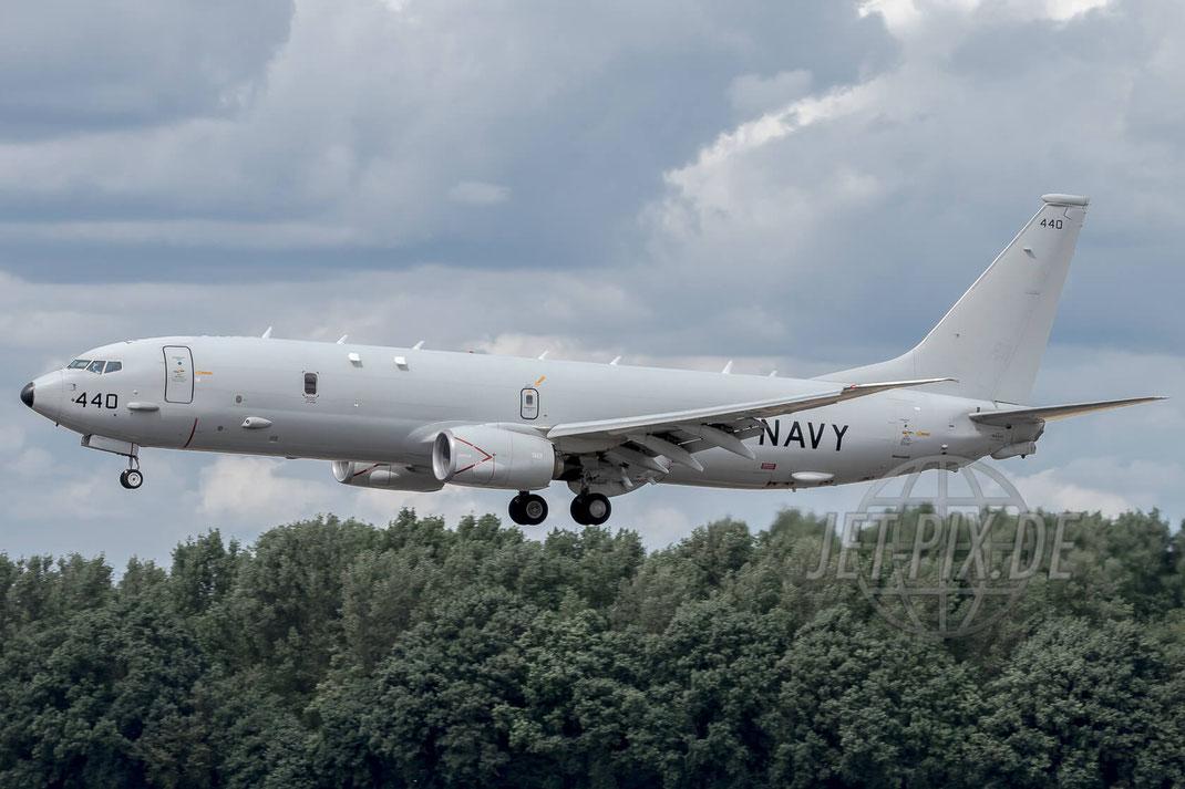 """440 US Navy Boeing P-8 Poseidon 2017 06 30 ETNG Geilenkirchen """"35 Years E-3A"""""""