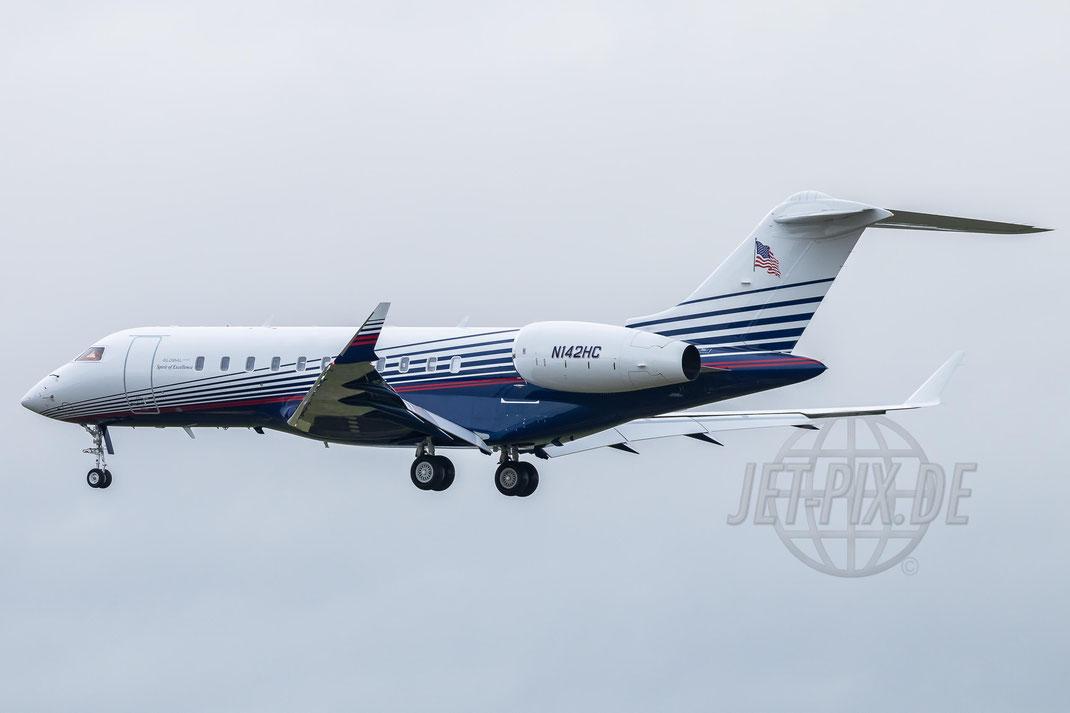 N142HC Delta Jet LTD. USA Bombardier BD-700-1A11 Global 5000 2017 09 11 EDDF Frankfurt