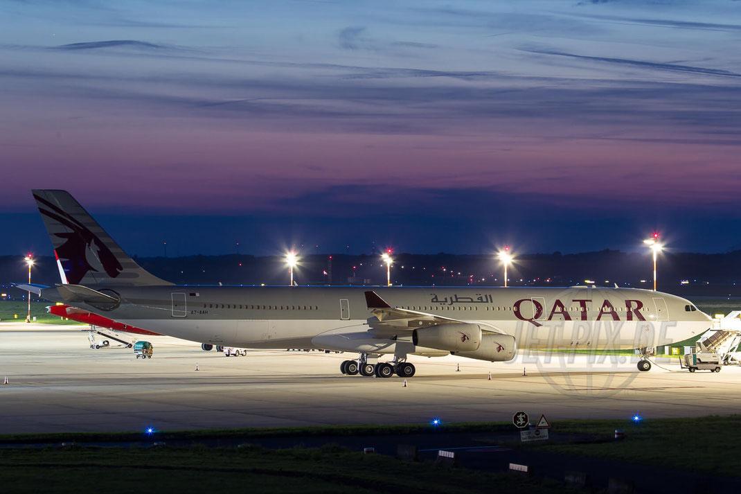 A7-AAH Qatar Amiri flight Airbus A430-313 2013 10 02 EDDL Düsseldorf
