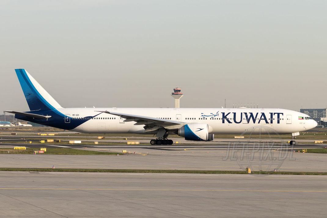 9K-AOI Kuwait Airways Boeing 777-369(ER) 2017 10 17 EDDF Frankfurt