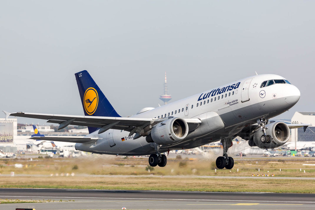D-AILC Lufthansa Airbus A319-100 2017 11 01 EDDF Frankfurt