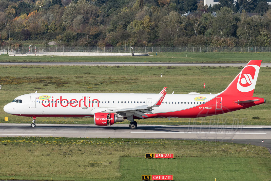OE-LCM NIKI Airbus A321-211 2017 10 14 EDDF Düsseldorf