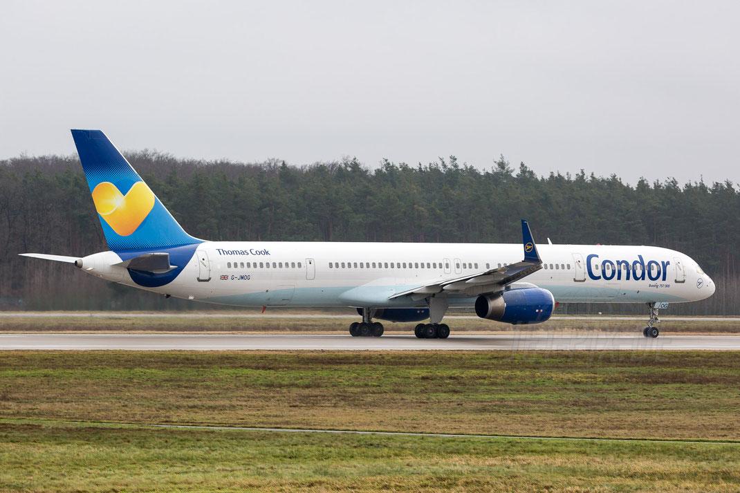 G-JMOG Thomas Cook Airlines Boeing 757-330(WL) 2018 01 06 EDDF Frankfurt