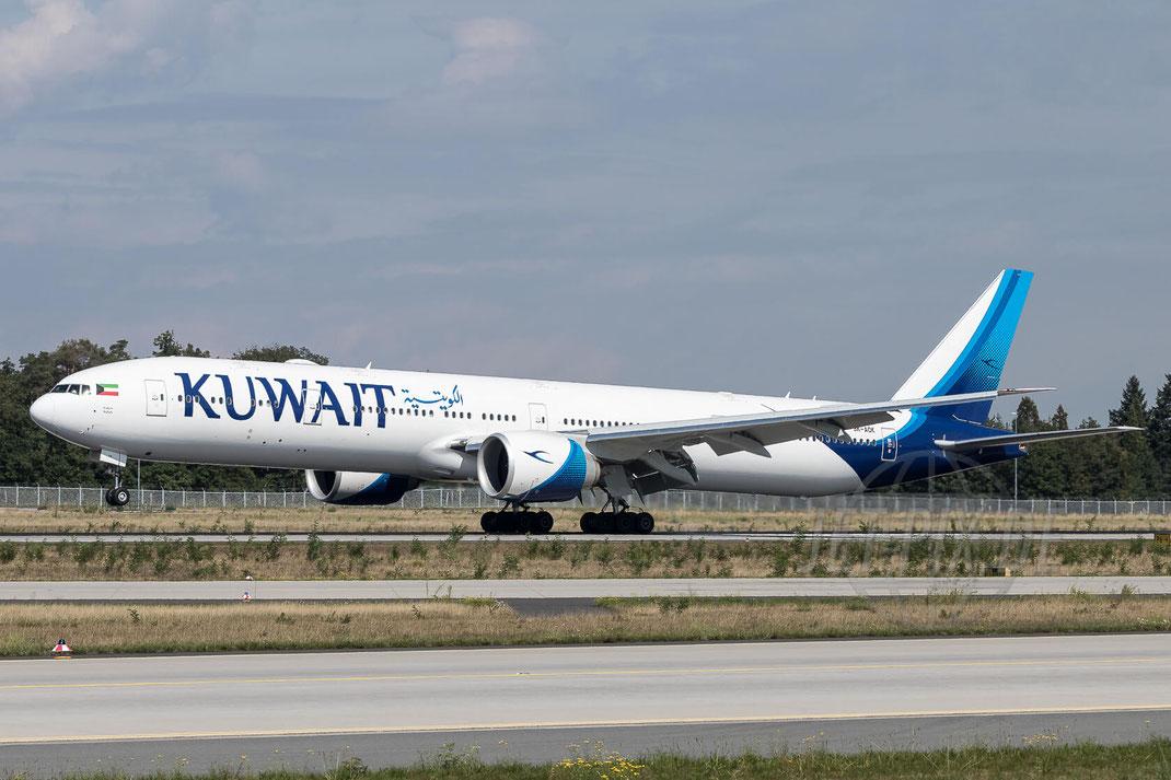 9K-AOK Kuwait Airways Boeing 777-369(ER) 2017 09 05 EDDF Frankfurt