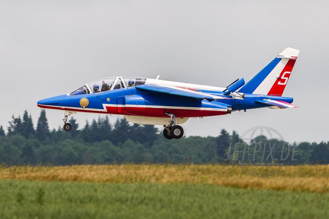 """""""5"""" Patrouille de France Alpha Jet 2016 06 23 EBFS Florennes"""